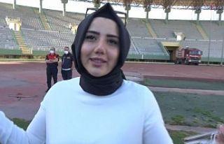 Türkiye'nin şampiyon olan ilk kadın başkanı...
