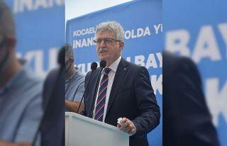 AK Parti MKYK Üyesi Zeybek, Kocaeli'de partisinin...