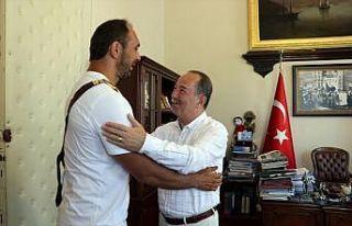 Başpehlivan Ali Gürbüz'ün hedefi altın kemerin...