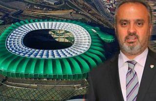 Bursa'da 'stadyum' krizi: #AlinurAktaşistifa...