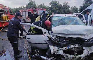Bursa'daki trafik kazasında ölü sayısı 5'e...