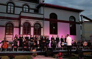 Edirne'de salgın nedeniyle ara verilen konserler...
