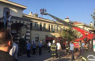 Gaziantep'te özel bir hastanede yangın çıktı