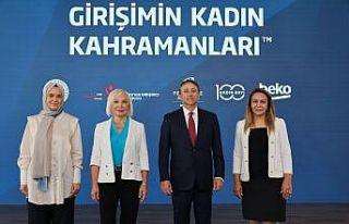 """""""Girişimin Kadın Kahramanları Projesi"""" girişimci..."""