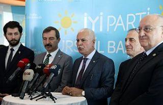 İYİ Parti Genel Başkan Yardımcısı Koray Aydın,...