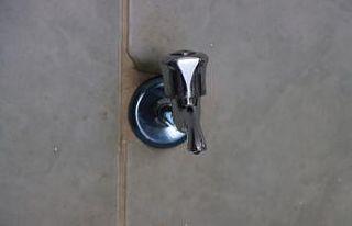 Kırklareli'nde cami tuvaletindeki muslukların...