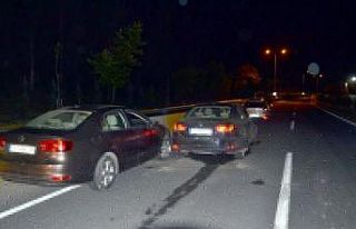 Kocaeli'de otomobilin çarptığı yaya hayatını...