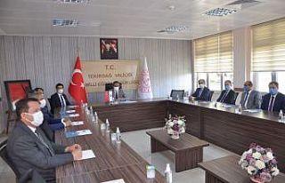 Milli Eğitim Bakan Yardımcısı Özer, Tekirdağ'da...