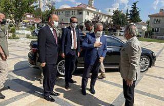 TBMM Başkanı Mustafa Şentop, Edirne Valiliğini...