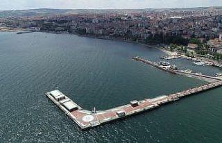 Tekirdağ kıyıları yüzeyinde müsilaj etkisini...