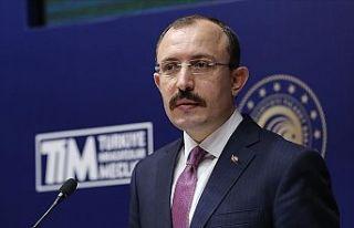 Ticaret Bakanı Muş: Cumhuriyet tarihinin en yüksek...