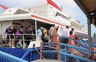 Yenikapı-Bandırma feribot seferlerinde bayram tatili...