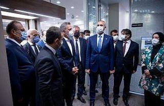 Adalet Bakanı Gül BTSO Tahkim Arabuluculuk Merkezi'nin...