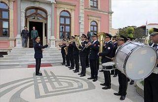 Edirne'de belediye bandosu emektar üyeleri için...