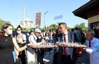 Edirnelilere Dünya Turizm Günü'nde tescilli...