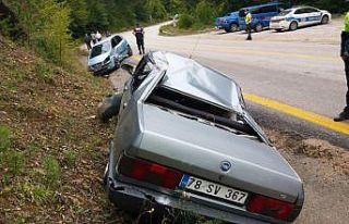 Sakarya ve Karabük'teki trafik kazalarında...