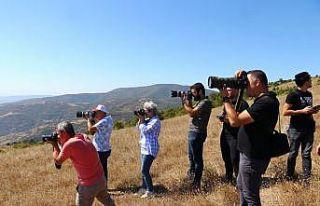 Tekirdağ'da fotoğraf tutkunları Ganos Dağı...