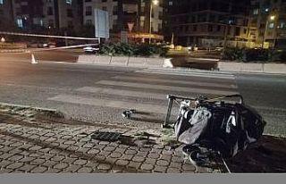 Tekirdağ'da motosikletin çarptığı 1'i...
