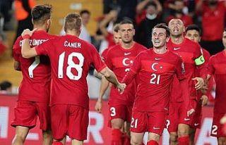 A Milli Futbol Takımı, Letonya maçına hazır