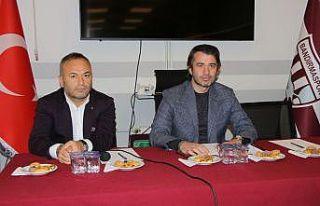 Bandırmaspor Başkanı GöçmezMKE Ankaragücü karşısında...