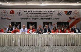 Özel sporcular2021 Down Sendromu Avrupa Şampiyonası'na...