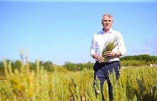 Sakarya'da yetiştirilecek genç çiftçilerle...
