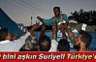 20 bini aşkın Suriyeli Türkiye'ye geçiş yaptı