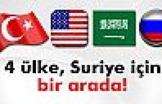 4 ülke, Suriye için bir arada