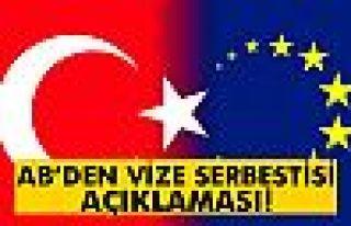 AB Komiseri: 'Türkiye vize serbestisini bu yıl içinde...