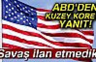 ABD'DEN KUZEY KORE'YE YANIT!