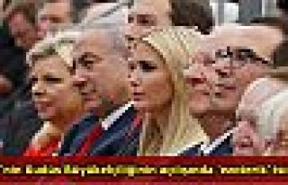 ABD'nin Kudüs Büyükelçiliğinin açılışında...