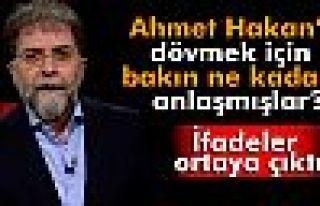 Ahmet Hakan'a dayak için 100 bin TL'ye anlaşmışlar