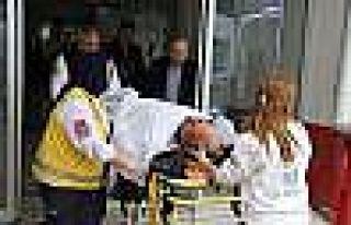 AK Parti Ladik İlçe Başkanı Kaza Yaptı: 1 Yaralı