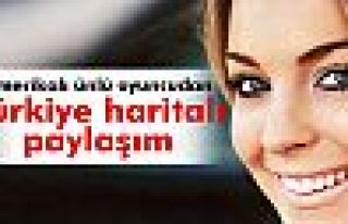 Amerikalı ünlü oyuncudan Türkiye haritalı paylaşım