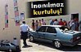 Antalya'da inanılmaz kurtuluş