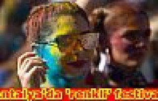 Antalya'da 'renkli' festival