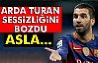 Arda Turan: 'Asla pazarlık yapmadık, Türk halkı...