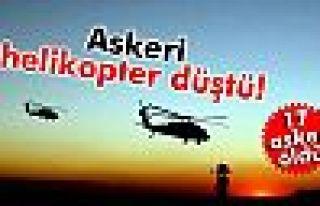 Askeri helikopter düştü: 17 asker öldü
