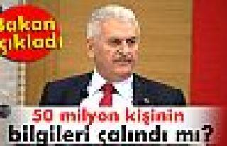 Bakan açıkladı! 50 milyon Türk'ün bilgileri çalındı...