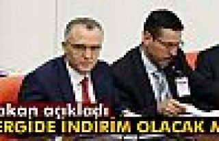 Bakan Ağbal: 'Vergi oranlarında indirim söz konusu...