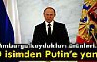 Bakan Tüfenkci: 'Putin itiraf etti'