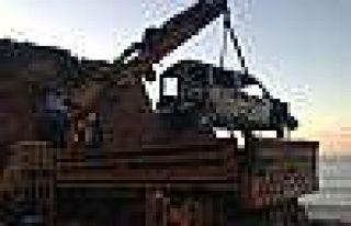 Bartın'da Denize Sürüklenen Araç 34 Gün Sonra...