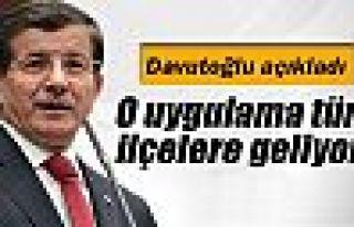Başbakan Davutoğlu açıkladı: Tüm ilçelerde...
