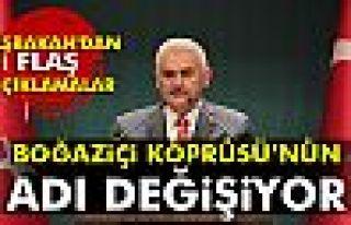 Başbakan Yıldırım açıkladı: Boğaziçi Köprüsü'nün...