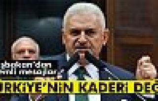 Başbakan Yıldırım: Terör Türkiye'nin kaderi...