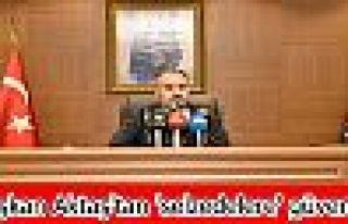 Başkan Aktaş'tan 'selzedelere' güvence