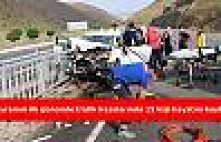 Bayramın ilk gününde trafik kazalarında 15 kişi...