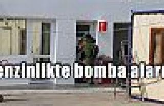 Benzinlikte bomba alarmı