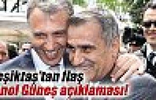Beşiktaş, Şenol Güneş'i borsaya bildirdi