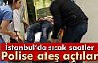Beyoğlu'nda polise silahlı saldırı: 1 yaralı